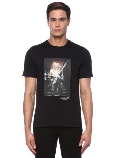 Neil Barrett Neil Barrett  Fotoğraf Baskılı T-shirt 101546473 Siyah